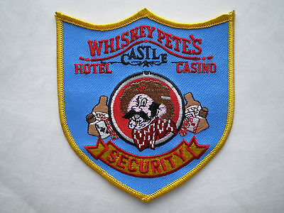 Nevada NV Whiskey Pete's Hotel Casino Security police patch