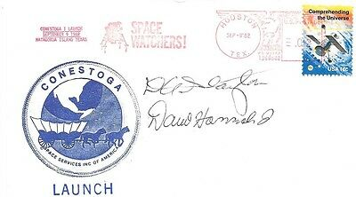 Autograph of Deke Slayton - Deceased NASA Astronaut + other on Space Cover