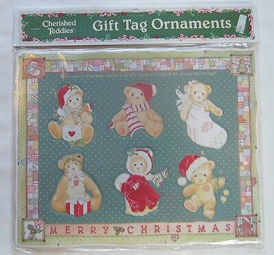 Sealed 1993 Cherished Teddies Gift Tag Ornaments