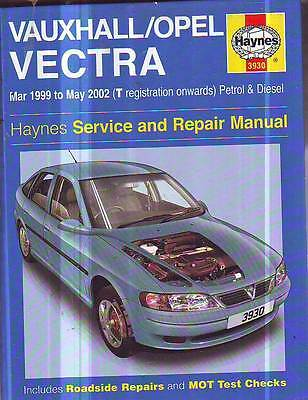Holden  Vectra Workshop Service Repair Manual 3/1999-5/2002 Petrol/diesel