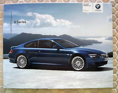 Bmw Official 6 Series Official Accessories Brochure 2008 Usa Edition