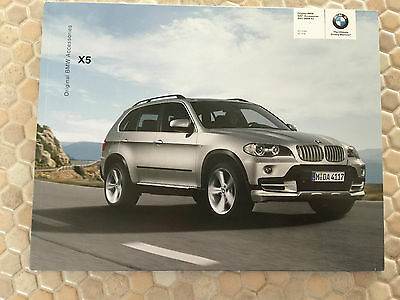 BMW OFFICIAL X5 3.0si 4.8i SAV OFFICIAL ACCESSORIES BROCHURE 2007- 2008 USA Ed