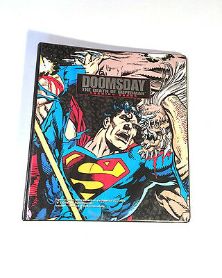 Doomsday the Death of Superman Trading Cards Binder Only DC Comics 1993