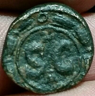 Elagabalus  218-222 AD,  Syria Antioch . Roman Provincia. S-C whitin the wreath