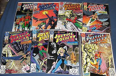 8 Issues Of Justice Society Of America #1-8 Limited Series High Grade NM