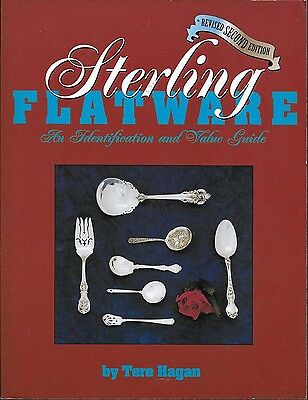 Softcover Sterling Flatware Identification & Value Guide Book 1999 (40)