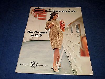 Ss United States-1962 Spinnerin Patterns Magazine Booklet
