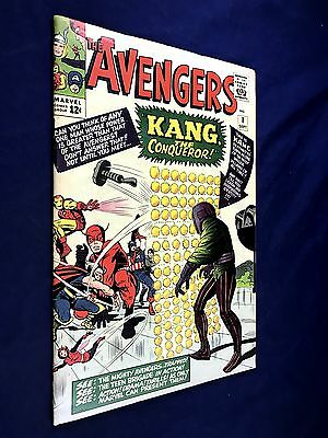 Avengers #8 (1964 Marvel) 1st appearance Kang the Conqueror NO RESERVE