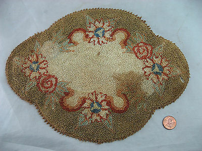 """Victorian Table Runner 11"""" x 8"""" Cottage Shabby Flowered Vintage"""