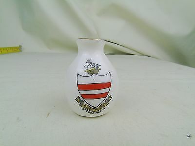 Antique Vintage Coombe Martin Crested China Willow Art China Longton