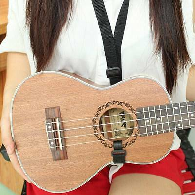 Adjustable Ukulele Strap For Ukulele Guitar Mandolin Instrument Hook Strap Link