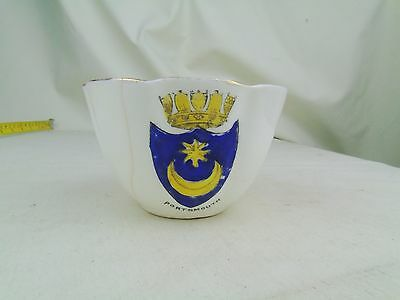 Antique Vintage Portsmouth  Crested China Unmarked Cup