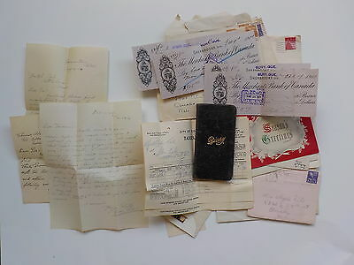 WWI Documents Letters Papers Royal Canadian Air Force WW1 Lot Old Canada VTG WW