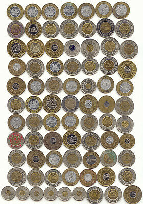 79 Bi-Metallic Tokens, Car Wash, Amusement, Good For, Control, Bi-Metal