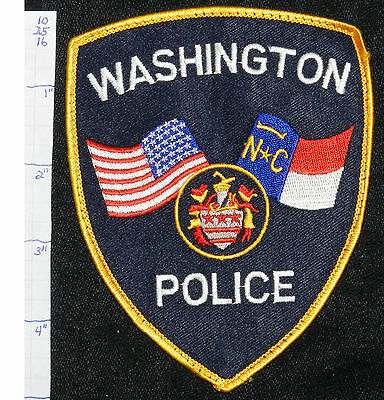 North Carolina, Washington Police Dept Patch