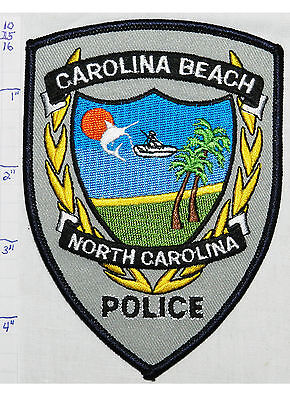 North Carolina, Carolina Beach Police Dept Patch