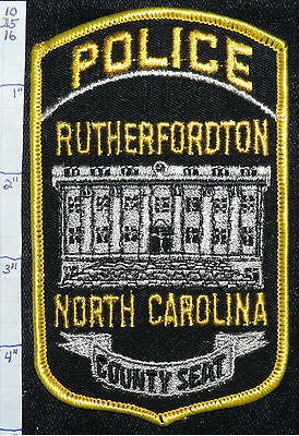 North Carolina, Rutherfordton Police Dept Version 2 Patch