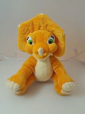 2007 Playmates Universal The Land Before Time Cera Dinosaur Plush 10""