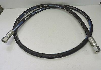 "Gates Hydraulic Hose 8M3K 3250 PSI 1/2"" 7ft"