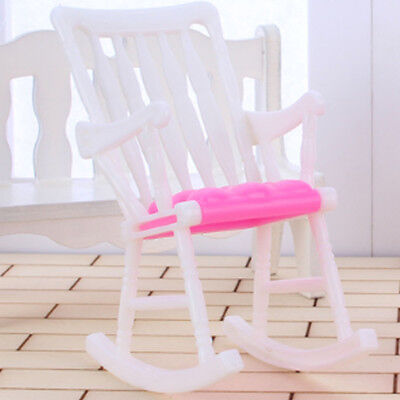 New Furniture Rocking Chair Doll house Toy Accessories Living Room for Barbie