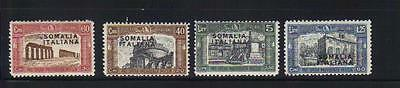 Italy Somalia 4 MLH stamps (60+30 stamp has a small thin)