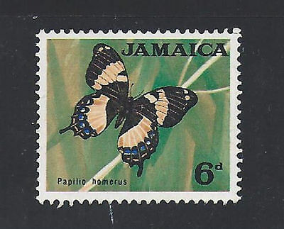 Jamaica old MLH stamp