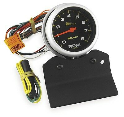 Auto Meter 19201 Pro-Cycle High RPM Tachometers 3-3/8in.