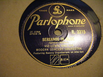 V Ic Lewis Orch*serenade In Blue / Love For Sale *ex