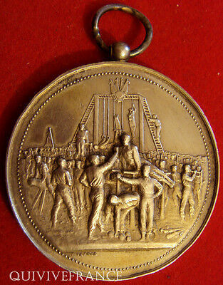 Med3662 - Medaille Fete Concours Gymnastique 1891 Gisors  - French Medal