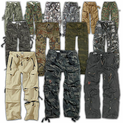 SURPLUS™ Raw Vintage AIRBORNE/FATIGUES/TREKKING Cargo Trousers US Military Pants