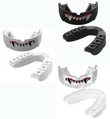 ERGO GUARD VEGA Mouthguard w/ Teeth Printed For Senior(Adult) - Tetherless