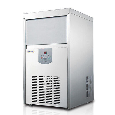 Commercial Ice Maker Clear Cube Ice Making Machine 48kg/24h 220V