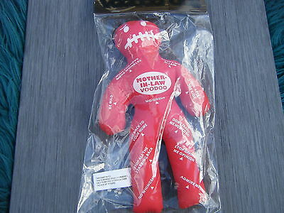 Mother In Law - Voodoo Doll + Pins - Adult Novelty Gift -  Free Postage Uk