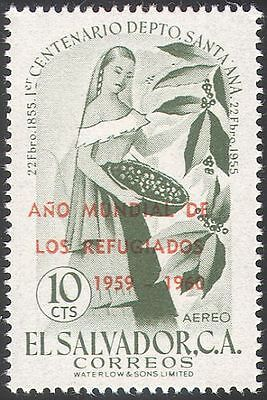 El Salvador 1960 UN/WRY/Refugees/People/Welfare/Coffee/Animation 1v (n42115)