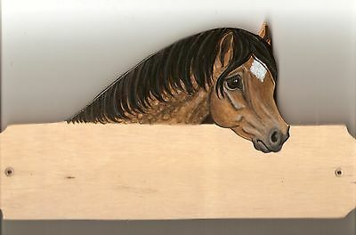 Welsh cob horse/pony stable/stall/barn name plate/plaque/sign personalised gift