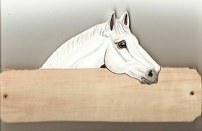 Irish cob horse/pony stable/stall/barn name plate/plaque/sign personalised