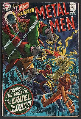 Metal Men #36 VG 4.0 Off White Pages