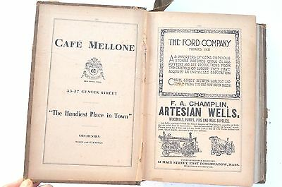 1911 New Haven Connecticut City Directory By Price & Lee Co. 953 Pages.great Ads