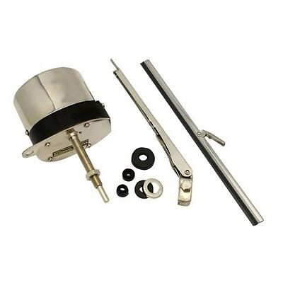 Scheibenwischer 12V Stainless Windshield Wiper Motor Kit Street Hot Rod Ford 32