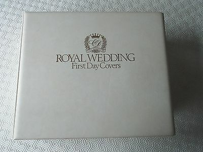 1981 Royal Wedding Princess Lady Diana 105 First Day Covers In Luxury Album