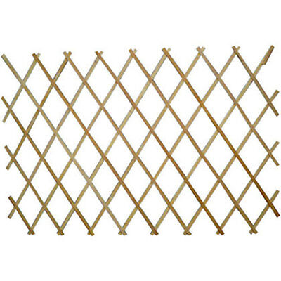Natural Wood Trellis Expanding Garden Scissor Trellis fence panel 6ft 1ft 2f 3ft