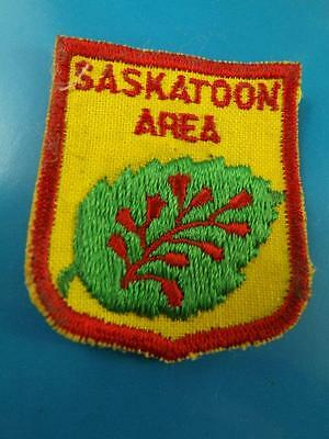 Boy Scouts Saskatoon Area District Canada Patch Collector Badge