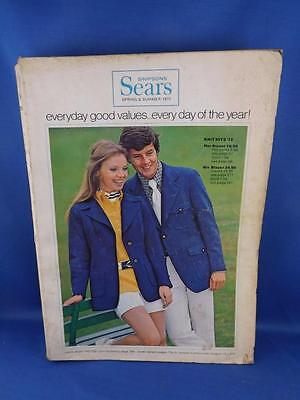 Sears Canada Catalogue Spring And Summer 1972 Clothing Housewares Gifts Tools