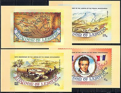 Lesotho 1983 Missionaries/Cattle/Horses Postcards (a82)