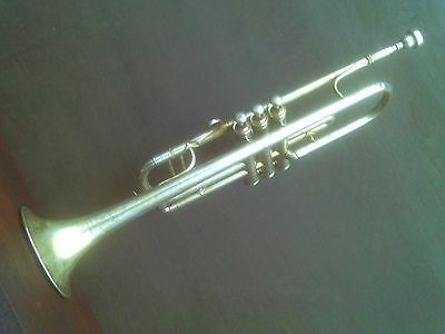 Old Besson & Co Trumpet. Class A Proteano Prototype. Good condition.
