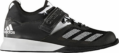 c3ae71707bfecc Mens Black Adidas Crazy Power Mens Crossfit Shoes Trainers - Size 6 to 11.5