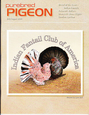 Purebred Pigeon ~ July/aug 2008~Indian Fantails~Sold Out~Not Available