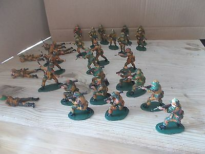 Airfix  1.32  Painted  Modern British Infantry -29 Figs. - See Photos -