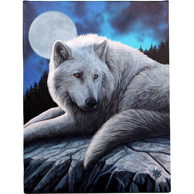 Fantasy Gothic Art Canvas Wall Plaque~Guardian of North~by Lisa Parker~uk seller