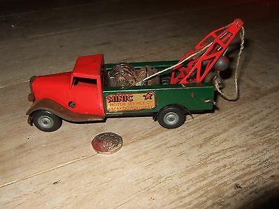 Triang Minic Toys Motor Service Breakdown Lorry Vintage Tinplate Clockwork Rare
